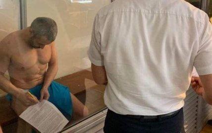 Вбивство Гандзюк: підозрюваний Левін з'явився на суді без одягу та попросив викликати швидку