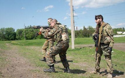 Ожесточенные бои под Крымским и внезапное затишье возле Донецкого аэропорта. Карта АТО