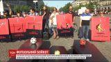 В Берлине активисты требовали бойкота Чемпионата мира по футболу