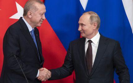 Эрдоган хочет попросить Путина помочь разобраться с курдами - СМИ
