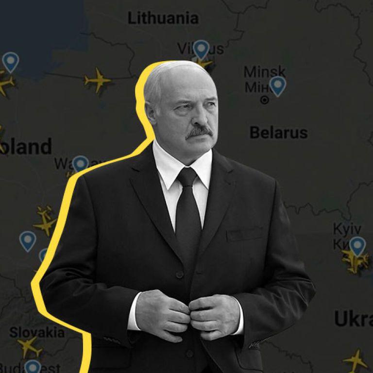 Беларусь не будет принимать самолеты из Украины, — Лукашенко