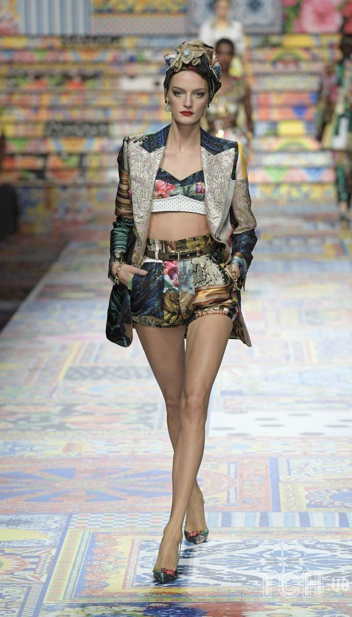 Коллекция Dolce & Gabbana прет-а-порте сезона весна-лето 2021 / © East News