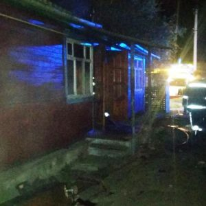 В Житомирской области во время пожара погибли отец и сын: фото