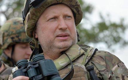 """Турчинов хочет защитить Украину от агрессора """"надежным ракетным щитом"""""""