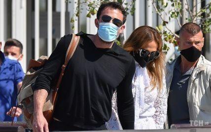 Джей Ло і Бена Аффлека заскочили за поцілунками у Венеції
