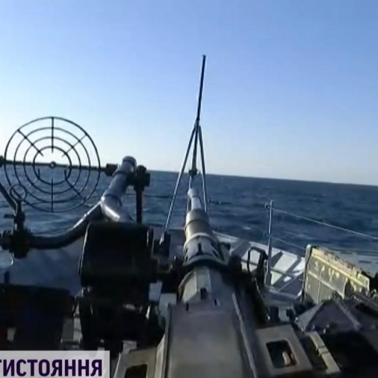 """Росіян нервує """"Гамільтон"""": як сторожові кораблі РФ провокували американський фрегат у Чорному морі"""