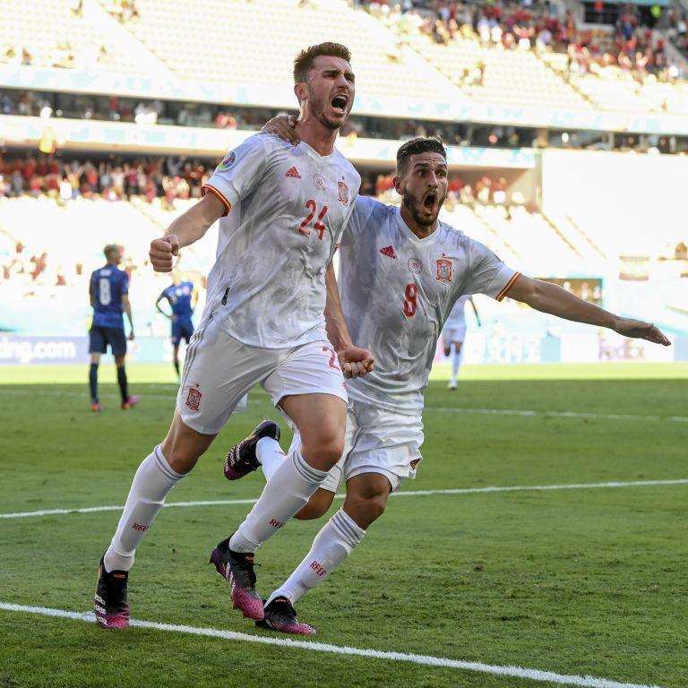 Евро-2020: Испания унизила Словакию и помогла Украине выйти в плей-офф