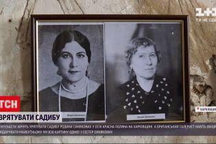 Новости Украины: в селе Харьковской области ветшает старинная усадьба семьи Синяковых