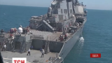 Флагман военно-морских сил Украины «Гетман Сагайдачный» остановил российскую провокацию