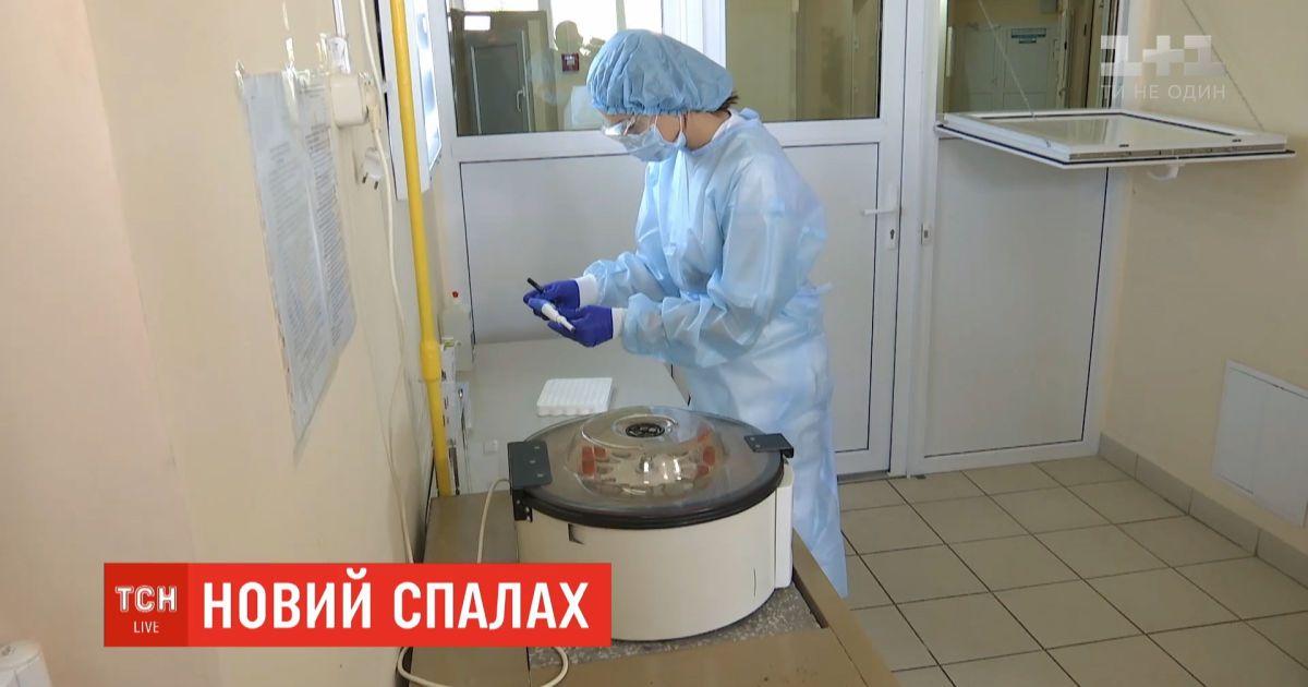 Обновленная статистика: за сутки в Украине обнаружили 1022 новых случаев заболевания коронавирусом