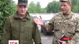 Бойцы отдельного автомобильного батальона в Черкассах сами обеспечивают себя формой