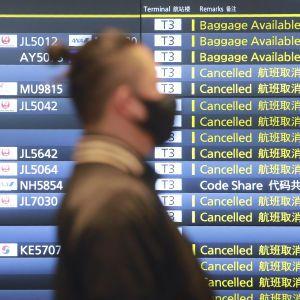 Північні регіони Японії накрив снігопад: порушене авіасполучення