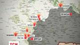 В зоне АТО зафиксировано 79 обстрелов за сутки