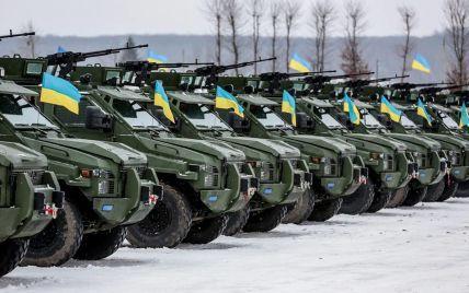 В понеділок сили АТО отримають 100 одиниць військової техніки – Порошенко