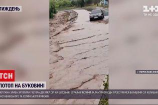 Новости Украины: более 10 сел на Буковине затопило из-за сильного ливня
