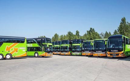 В Україну заходить автобусний лоукостер FlixBus