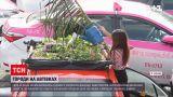 Новини світу: в одному з таксопарків Бангкока вирощують овочі на дахах автівок