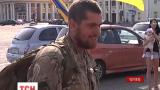 Чернигов встретил бойцов 41 отдельного мотопехотного батальона