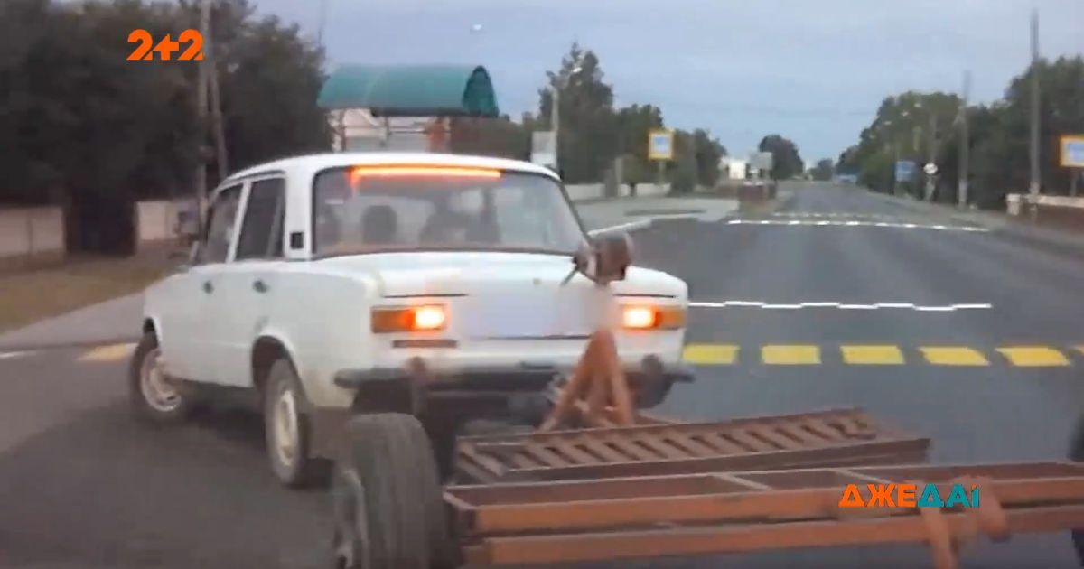 """В Гродно водитель """"Жигулей"""" пытался скрыться от полиции"""