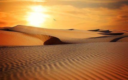 В Еміратах в 50-градусну спеку штучно викликали дощ: пустелю залило (відео)