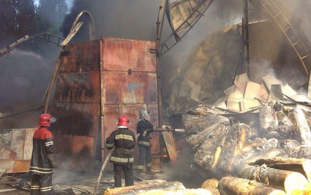 Мчсники ликвидировали пожар / © facebook.com/ГСЧС
