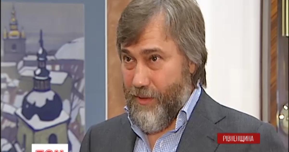 Нардеп Вадим Новинский набросился на митрополита Александра Драбинко с кулаками