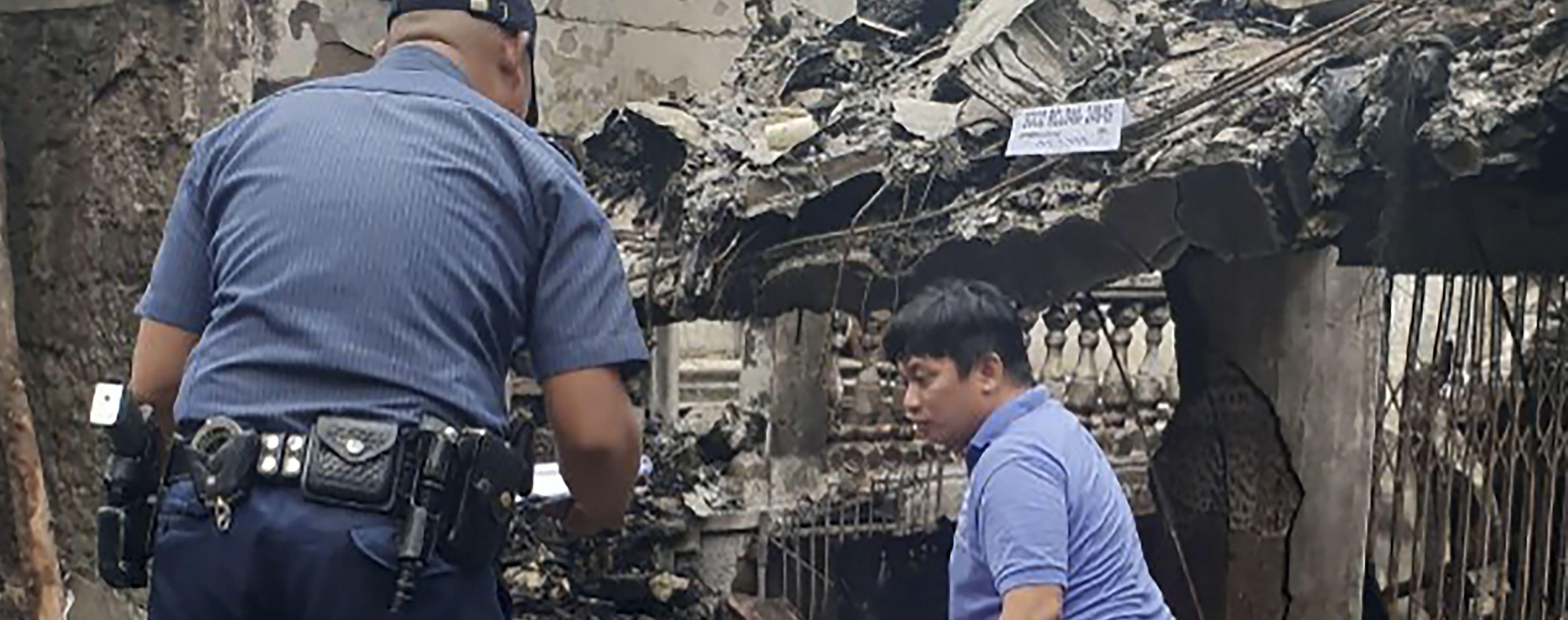 Шокирующие кадры: падение санитарного самолете на отель в Филиппинах попало на видео