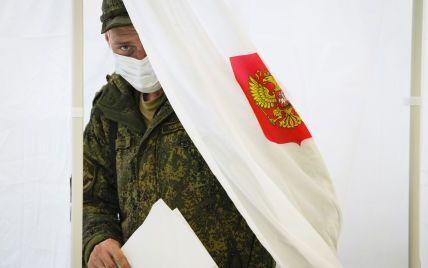 Украина введет санкции за проведение выборов в Госдуму РФ в Крыму и на Донбассе