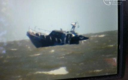 Возле Мариуполя взорвался катер пограничников, есть пострадавшие