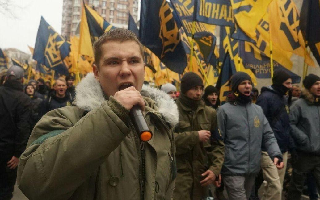 "Марш азовців / © ВКонтакте/полк ""Азов"""