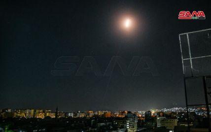 Сирія перехопила декілька запущених з Ізраїлю ракет: відео