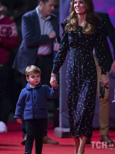 Герцогиня Кэтрин и принц Луи / © Associated Press