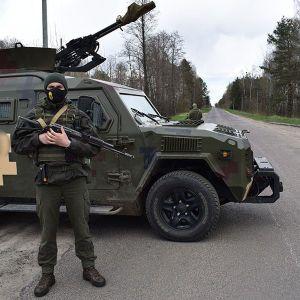 С использованием вооружения и спецтехники: на Волыни прошли масштабные антитеррористические учения (фото)