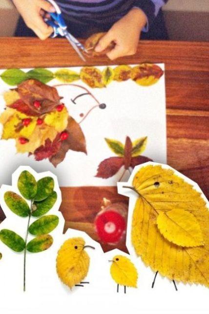 Осенние изделия в школу: пять легких идей, которые можно воплотить с детьми