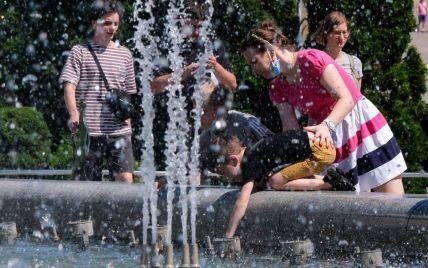 У липні в Києві зафіксували чотири температурних рекорди