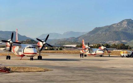 Пожежі в Туреччині: українські літаки вже розпочали гасіння поблизу Анталії