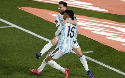 Мессі забив курйозний гол у відборі ЧС-2022 та увірвався до топ-5 бомбардирів в історії збірних (відео)