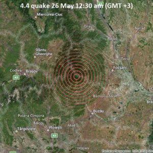 На юге Одесской области почувствовали землетрясение, произошедшее в Румынии