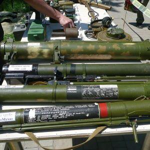 На Донбассе боевики снова начали бить по украинским позициям ракетами с советских огнеметов