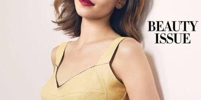 """""""Мать драконов"""" в шикарных нарядах от Dolce & Gabbana: Эмилия Кларк украсила модный глянец"""