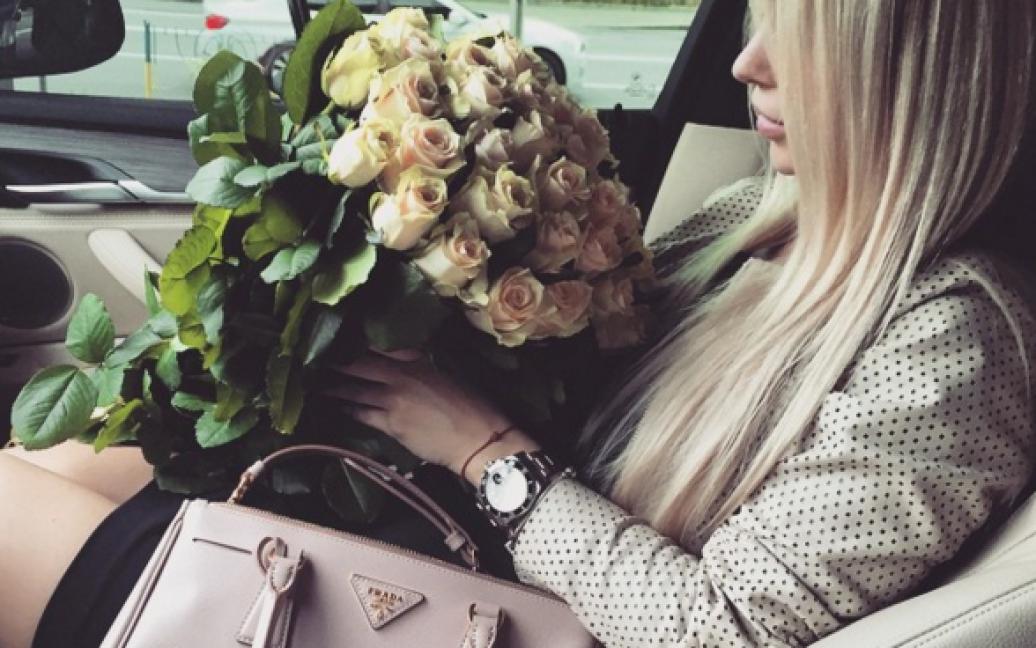 Жена Черновского путешествует с мужем / © Instargam/dasha_dasha_ch