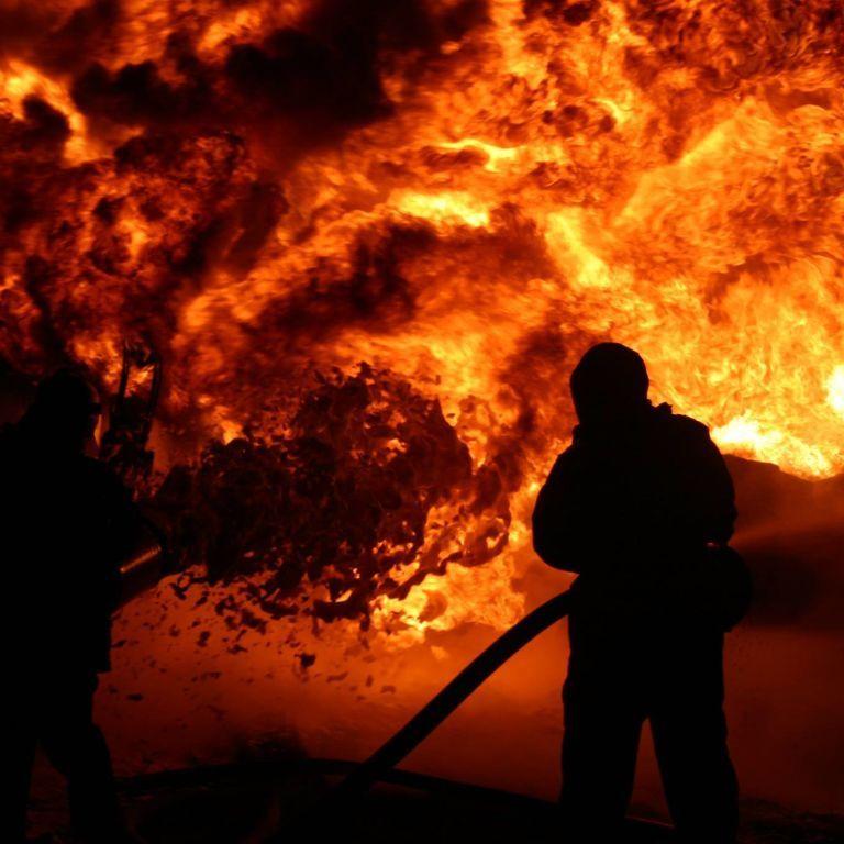 В Беларуси вспыхнул пожар на ГРЭС: местные жители остались без света