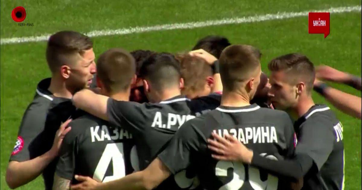 Зоря - Олександрія - 1:0. Відео голу Гладкого