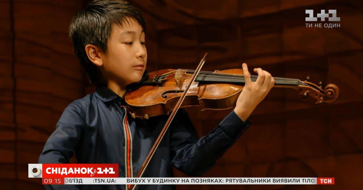 Самый молодой скрипач подписал контракт с престижным британским лейблом