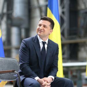 Зеленский перед разговором с Байденом встретился с председателем Венецианской комиссии