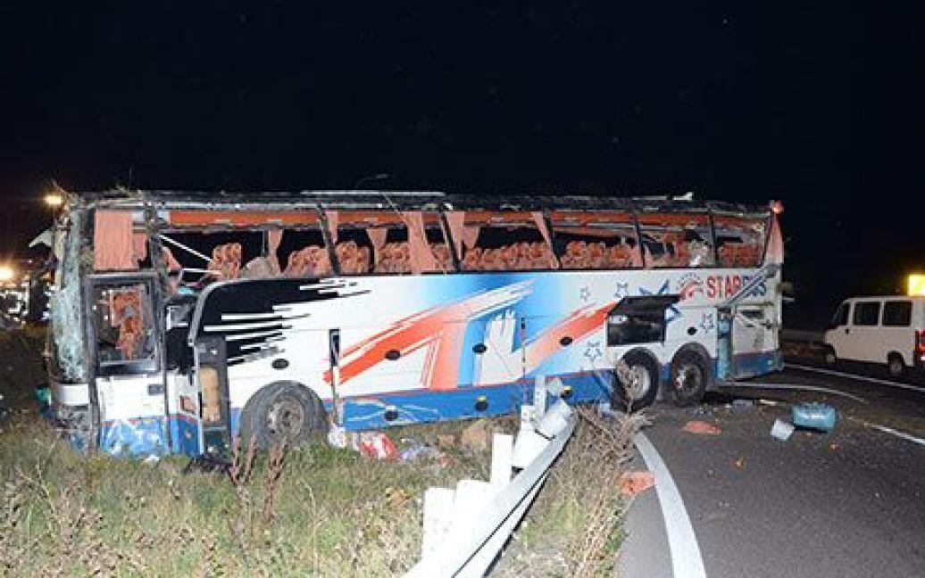 В Австрии попал в ДТП автобус с украинскими номерами / © monatsrevue