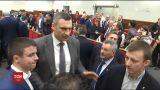 """""""Можу дати урок"""": Кличко прокоментував бійку в Київраді"""