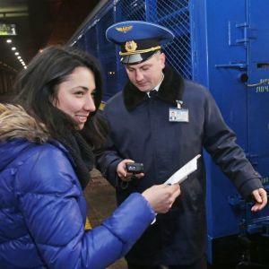 """""""Укрзализныця"""" рассматривает возможность прекращения железнодорожного сообщения с Россией"""