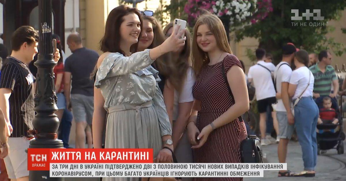 Коронавирусные выходные: за три дня количество новых больных в Украине увеличилось на 2,5 тысяч