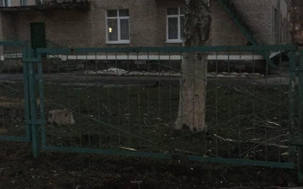 Наслідки обстрілів Авдіївки / © facebook.com/Вячеслав Аброськін